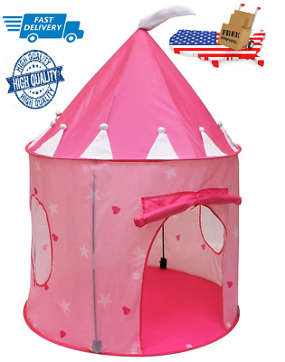 NEW Toys For Girl Kids Children Play Castle Tent House for 3 - 10 Years Old Gift