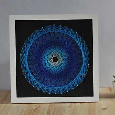 String Art Crafts Bird's Nest geometric Shape Picture for Adults Wall Decor