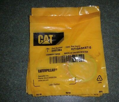 Genuine Caterpillar Injector O-Ring Kits - Part# 2481394 NEW Lot of 6 Sets NR  !