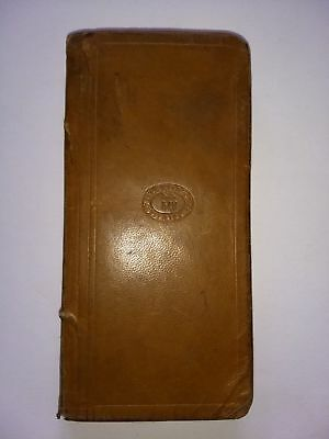 STATE PRISON GUARD HANDWRITTEN DIARY Law Enforcement Book/Jail/Police Concord MA