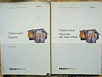 L' ELETTRONICA DIGITALE (IN 2 VOLUMI senza Cd) - ENRICO AMBROSINI - TRAMONTANA