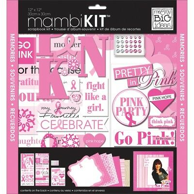 """Me & My Big Ideas Page Kit 12""""x12""""-pretty In Pink"""