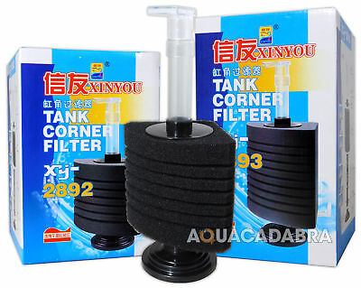 Fish Tank Bio Foam Corner Sponge Filter Aquarium Breeding Small Fry Tank
