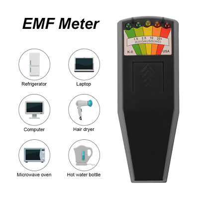 EMF Meter Electromagnetic Detector Radiation Tester for PC/Phone Durable BI1053