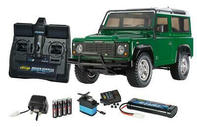 Remote Control Tamiya 1/10 Land Rover Defender 90 4x4 Kit With Controller DA1626