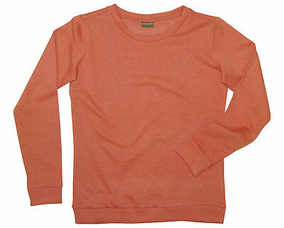 Sweatshirt KidsWorld 152 158 hummer meliert langarm Sweat Shirt Basic