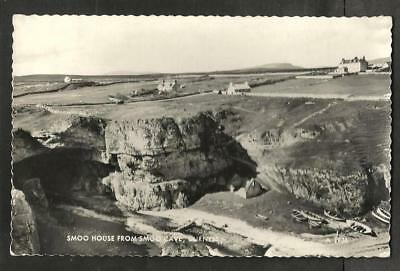 NRT 1962 Postcard, Smoo House from Smoo Cave, Durness, Sutherland