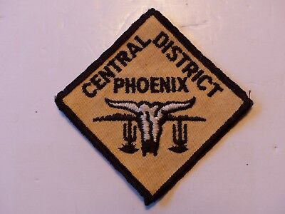 Vintage Central District Phoenix Ariz Theodore Roosevelt Council Boy Scout Patch