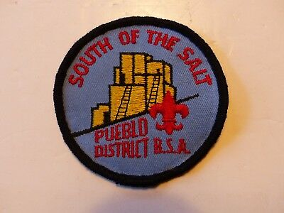 Pueblo District South of the Salt Theodore Roosevelt Council AZ Boy Scout Patch