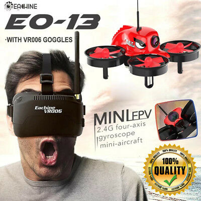 ✓ Eachine E013 Micro FPV RC Racing Quadcopter Drone With Goggles *100% QUALITY*