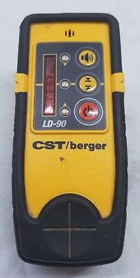 Cst/berger Ld-90 Ld90 Rotary Laser Detector Good Overall Condition Look!!