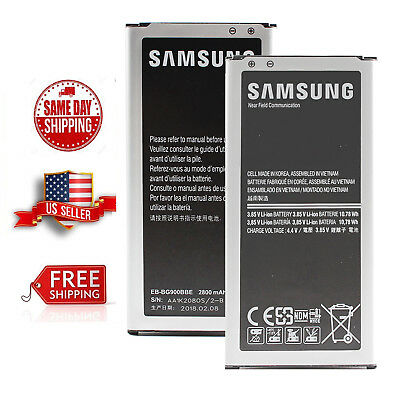 Genuine OEM Original Samsung Galaxy S5 i9600 Li-ion Battery EB-BG900BBE 2800mAh