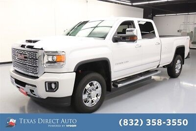 2018 GMC Sierra 3500 Denali Texas Direct Auto 2018 Denali Used Turbo 6.6L V8 32V Automatic 4WD Pickup Truck