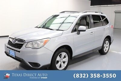 2014 Subaru Forester 2.5i Premium Texas Direct Auto 2014 2.5i Premium Used 2.5L H4 16V Automatic AWD SUV Moonroof
