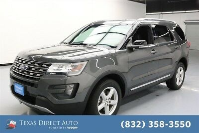 2016 Ford Explorer XLT Texas Direct Auto 2016 XLT Used 3.5L V6 24V Automatic 4WD SUV Premium