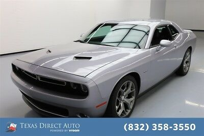 2015 Dodge Challenger R/T Plus Texas Direct Auto 2015 R/T Plus Used 5.7L V8 16V Automatic RWD Coupe Premium