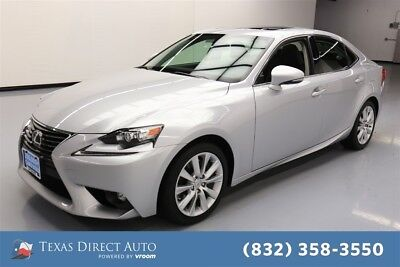 2016 Lexus IS  Texas Direct Auto 2016 Used Turbo 2L I4 16V Automatic RWD Sedan Premium
