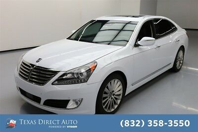 2016 Hyundai Equus Signature 4dr Sedan Texas Direct Auto 2016 Signature 4dr Sedan Used 5L V8 32V Automatic RWD Sedan