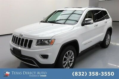 2015 Jeep Grand Cherokee Limited Texas Direct Auto 2015 Limited Used 3.6L V6 24V Automatic RWD SUV