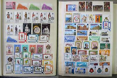 GIBRALTAR  NICE NEAT COLLECTION MNH** all different incl cpl sets /ch994