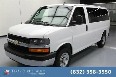 2017 Chevrolet Express LT Texas Direct Auto 2017 LT Used 6L V8 16V Automatic RWD Minivan/Van
