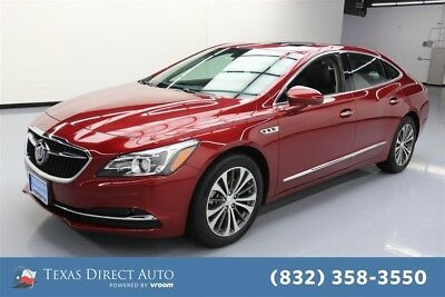 2018 Buick Lacrosse Essence Texas Direct Auto 2018 Essence Used 3.6L V6 24V Automatic FWD Sedan OnStar