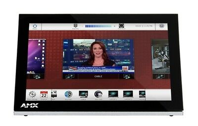 """AMX MST-1001 10"""" 1280 x 800 Tabletop Black touch screen monitor - FG2265-05"""
