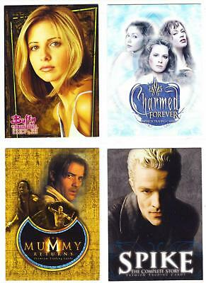 MOVIE/TV PROMO & INSERT CARD LOT #1--Lot of 15 Cards / Buffy-Dexter-Charmed^^