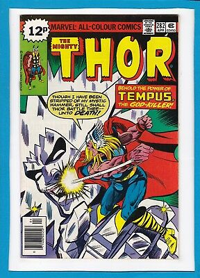 "Mighty Thor #282_April 1979_Very Fine/near Mint_""tempus...the God-Killer""_Uk!"