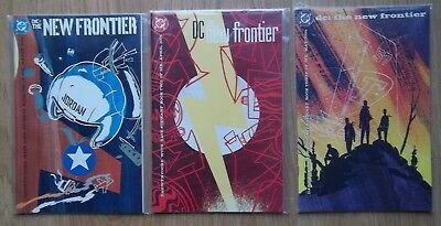 Lot of 3 DC Comics The New Frontier Books #1,2,3 from 2004