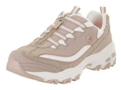 Skechers Women's D'lites - Zip Along Casual Shoe