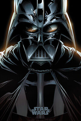 "STAR WARS - MOVIE POSTER / PRINT (DARTH VADER / COMIC) (SIZE: 24"" x 36"")"