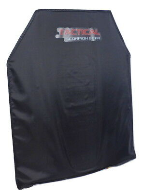 Tactical Scorpion Level IIIA 3A Aramid Body Armor Plates Hard Curved 10 x 12