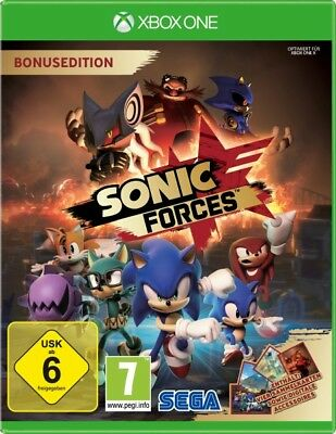 Xbox One Gioco Sonic Forces Day One Edition Merce Nuova