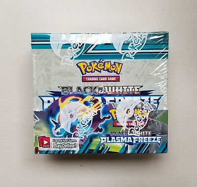 Pokemon Black & White Plasma Freeze Booster Box (36 packs) Factory Sealed