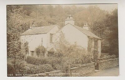 Cumbria postcard - Dove Cottage, 9 Years, Wordsworth's Home - (A5)