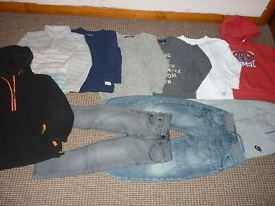Bundle Boys Clothes age 5-6yrs Animal Next Nike Jeans Joggers Tops Hoodie Shirt