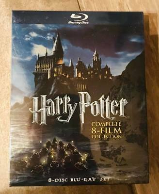 Harry Potter: Complete 8-Film Collection (Blu-ray, 8-Disc Set) Sealed BRAND NEW