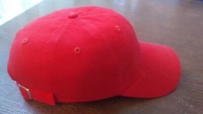 Fibre Metal Hat Red Baseball Hat Size 55 - 60 cm safety hat
