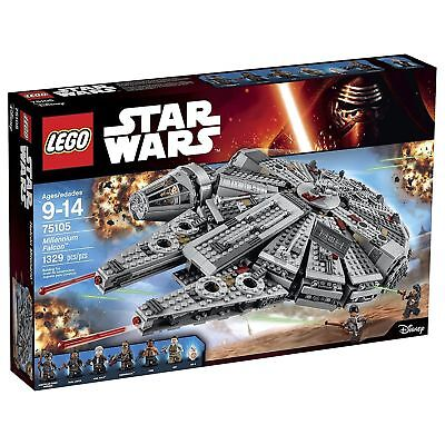 LEGO Star Wars Millennium Falcon Building Kit 75105 1329 Pieces BRAND NEW