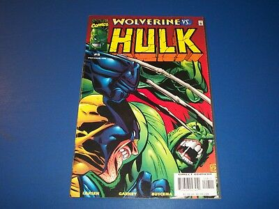 Incredible Hulk #8 Wolverine Key VFNM Gem Wow