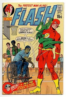 Flash Vol 1 No 201 Nov 1970 (FN/VFN) (7.0) DC Comics, Bronze Age (1970 - 1979)