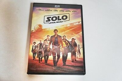 Solo A Star Wars Story 2018 Rated Pg13-Dvd