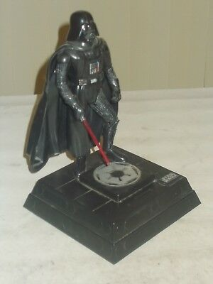 "Disney Star Wars 12"" Darth Vader Coin Bank Figure 1996 Lucasfilm Thinkway Toys"