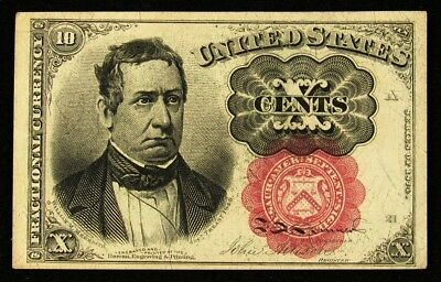 FR.1266a 5th Issue (1874-76) 10 Cents US Fractional Currency