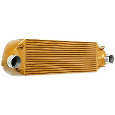 Mishimoto MINTFOST13GD Direct Fit Intercooler 2013-2018 Ford Focus ST Gold Finis