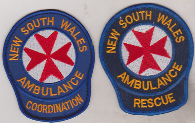 NSW Ambulance Rescue & Coordination obsolete patches