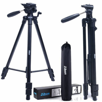 Non-slip Rubber Feet Albott Q111 Aluminum Alloy Tripod for DSLR Canon DV Video