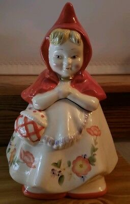 COOKIE JAR CLASSICS Little Red Riding Hood Cookie Jar by Jonal