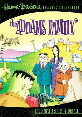Hanna-Barbera DVD : die Addams Family Complete Animated Series 4-Disc Adams